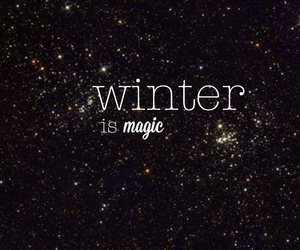 magic, winter, and christmas image