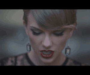 blank space, Taylor Swift, and lipstick image