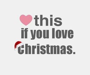 christmas and christmas love image