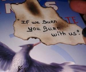 hunger games, peeta mellark, and katniss everdeen image