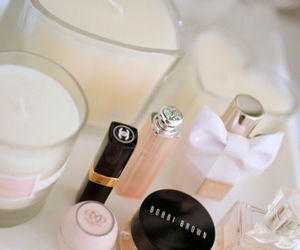 chanel, luxury, and cosmetics image