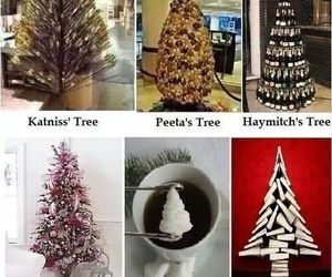 tree, hunger games, and katniss image