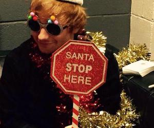 ed sheeran, christmas, and ginger image