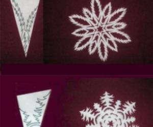 diy, snowflake, and crafts image
