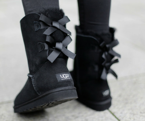 black, shoes, and ugg image