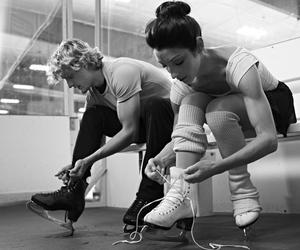 ice skating, charlie white, and meryl davis image