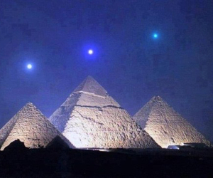 pyramid, egypt, and planet image