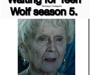 teen wolf, funny, and season 5 image