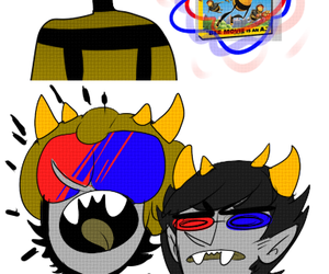 bee, homestuck, and sollux captor image
