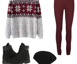 black, christmas, and fashion image