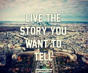 live, story, and life image