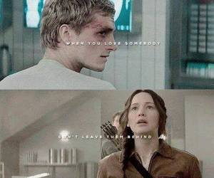 katniss, mockingjay, and peeta image