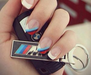 bmw, key, and nails image
