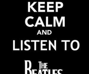 keep calm and the beatles image