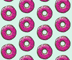 beauty, cool, and donuts image