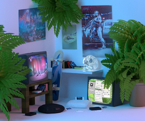 grunge, plants, and room image