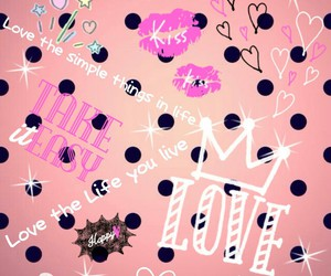 dots, girly, and happy image