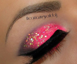 eyes, art, and make up image