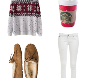 christmas, girly, and outfit image