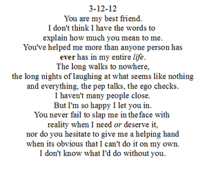 I Love You Bestfriend Quotes Unique 108 Images About I Love You Best Friend ☆ On We Heart It  See