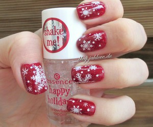 christmas, snowflakes, and cute image