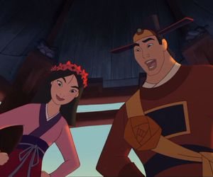 disney, mulan, and shang image
