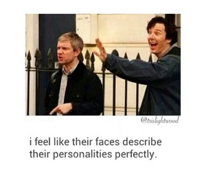 fandom, sherlock, and johnlock image