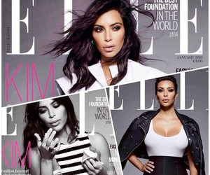 Elle, magazine, and kardashians image