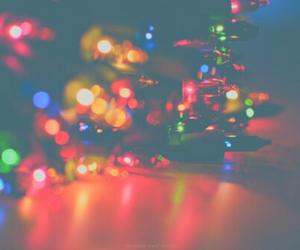 lights, christmas, and cold image