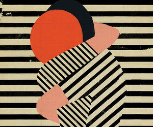 art, love, and stripes image