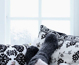 fashion, socks, and winter image