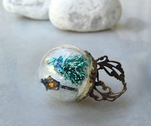 ring, christmas, and magical image