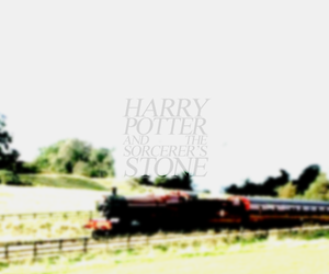 harry potter, sorcere's stone, and hp1 image