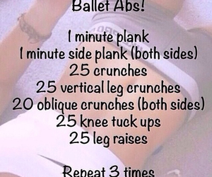 abs, ballet, and fit image