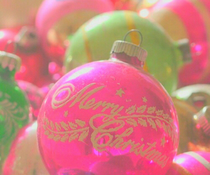 christmas, gift, and green image