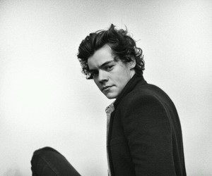 black, cute, and harry image