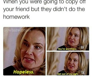 coven, funny, and homework image