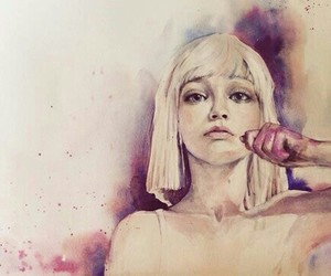 chandelier, Sia, and art image