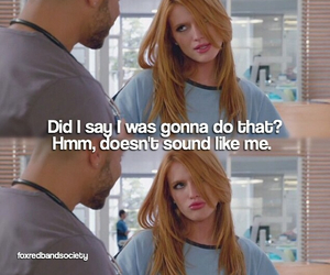 funny, bella thorne, and red band society image