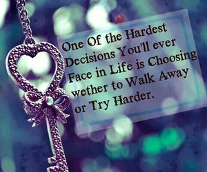 quote, life, and decisions image