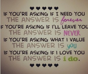 I Love You, love quotes, and teen love image