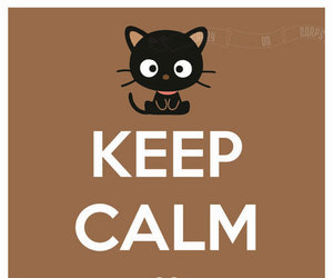 keep calm and chococat image