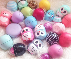 eos, owl, and lip balm image