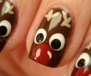 arte, christmas, and nails image