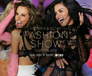 fashion show, Victoria's Secret, and december image