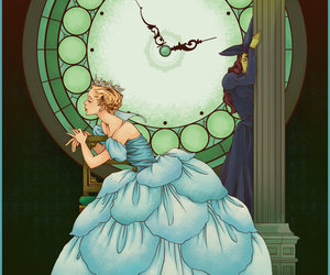 art, glinda, and wicked image