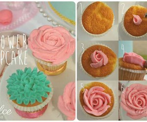 cupcake, food, and diy image