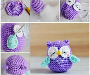 diy, owl, and purple image