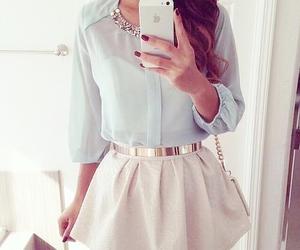 fashion, skirt, and beauty image