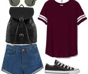 grunge, outfit, and summer image